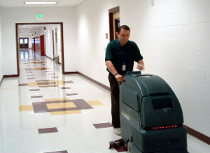 Machine Floor Cleaning